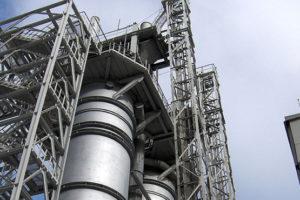 Защита от коррозии конструкций завода